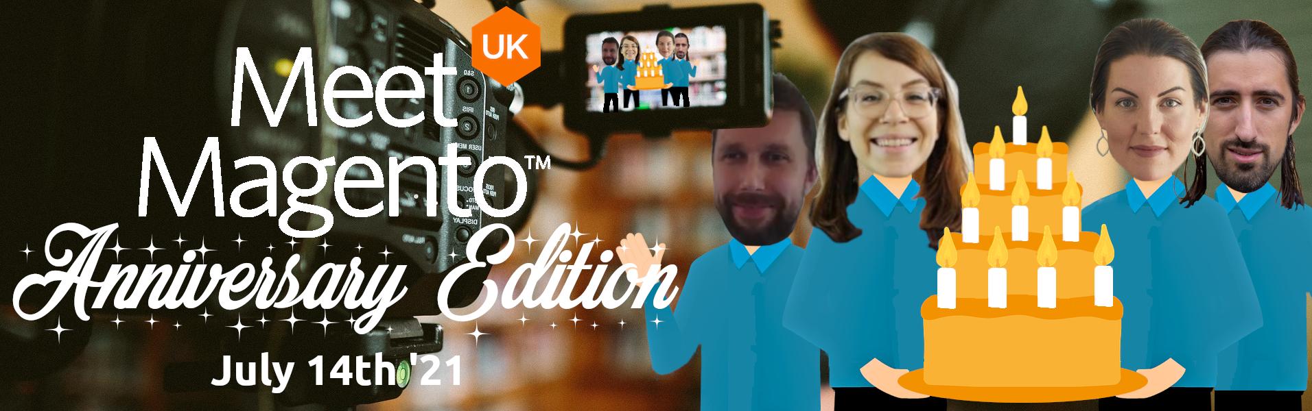 Meet Magento UK '21 - Talia Shani, Polly Lygoe, Oleksandr Lyzun & Russell Flawn