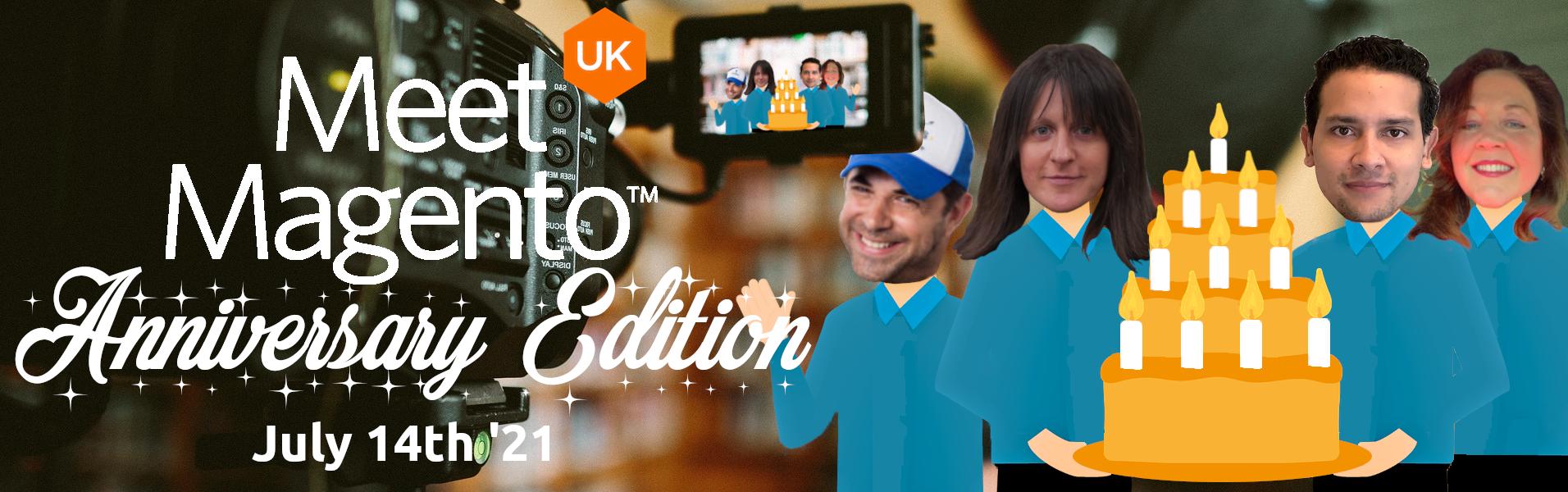 Meet Magento UK '21 - Chloe Thomas, Rafael Corrêa Gomes, Itay Vladomirsky & Sharon Lambert.