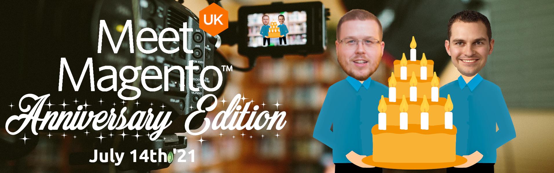 Meet Magento UK '21 - Peter Sheldon and Jamie Huskisson