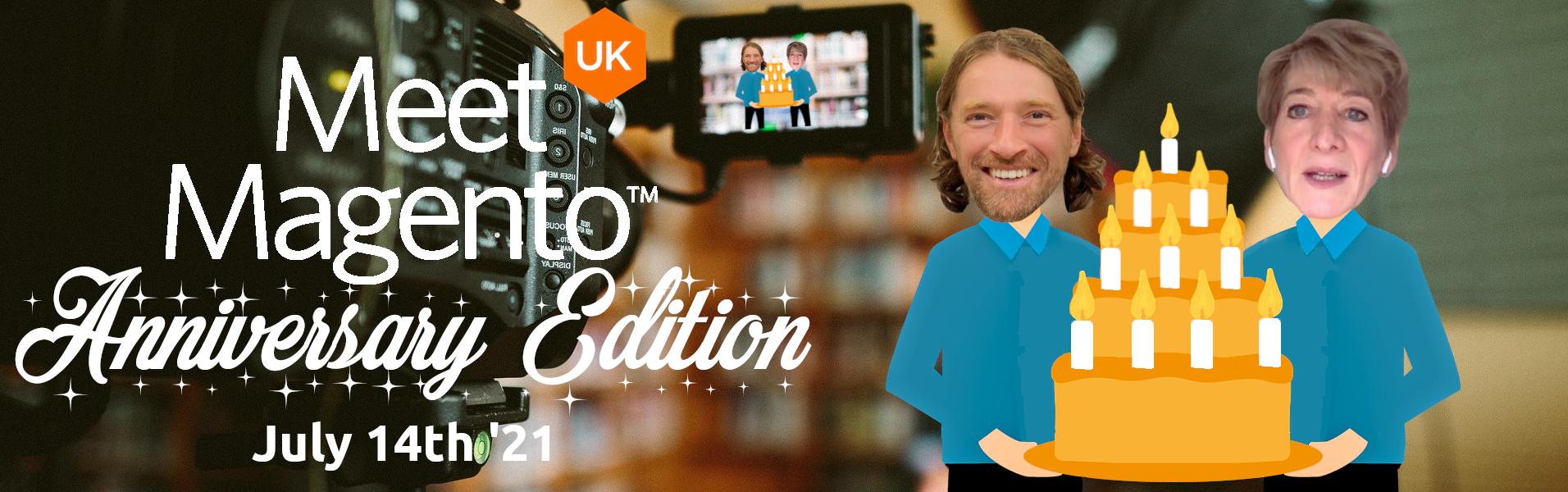 Meet Magento UK '21 - Andy Mulcahy, Performance Team at Google & Marion Freijsen.